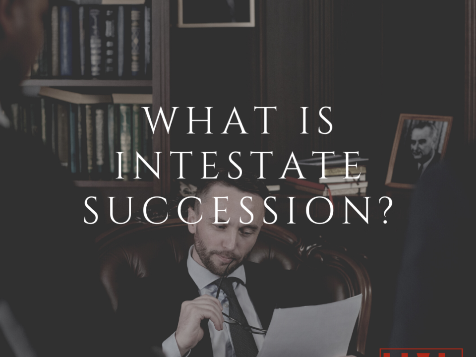What Is Intestate Succession_